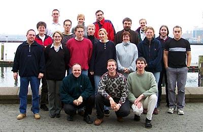 Teilnehmer Fachübungsleiter 2001