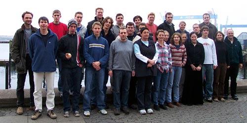 Teilnehmer Fachübungsleiter 2003