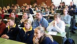 RVSH FÜL 2005: Über 60 Teilnehmer bei der Trainerfortbildung