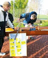 Jugendbetreuer 2002: Trimmen von Booten