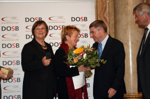 Gleichstellungspreis des DOSB 2011 geht an Heida Benecke