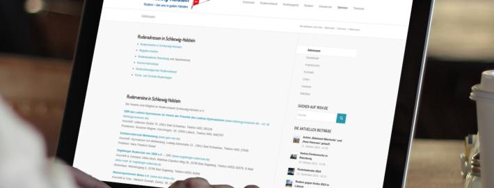 rish.de – das Website vom Ruderverband Schleswig-Holstein
