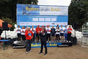 Rudern gegen Krebs 2012 in Lübeck