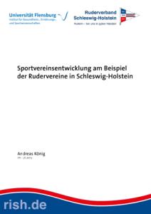 Sportvereinsentwicklung am Beispiel der Rudervereine in Schleswig‐Holstein