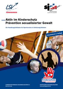 Aktiv im Kinderschutz. Prävention sexualisierter Gewalt.