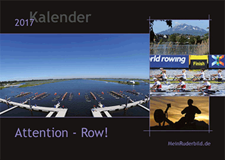 Attention – row! Kalender 2017