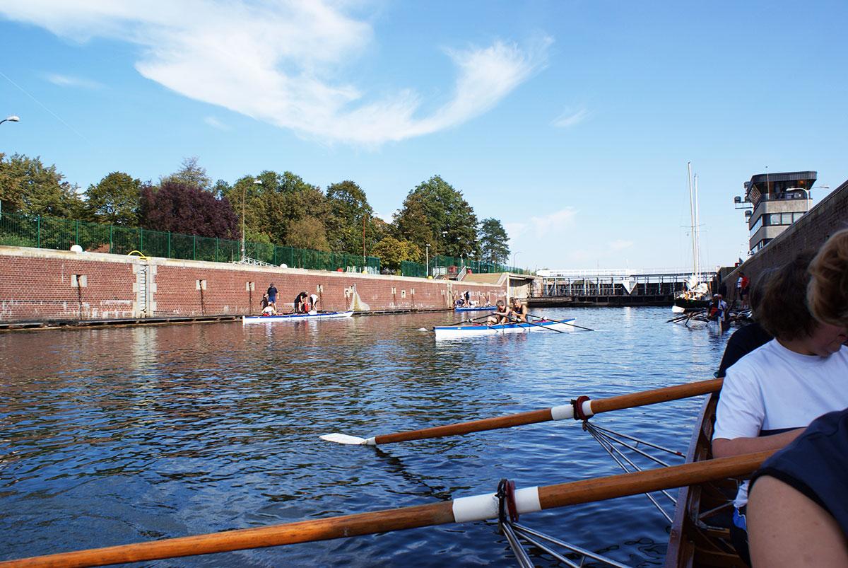 NOK-Schleuse Kiel-Holtenau