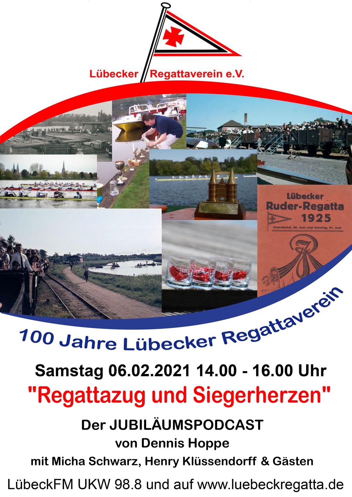 """""""Regattazug und Siegerherzen"""" – 100 Jahre Lübecker Regattaverein"""