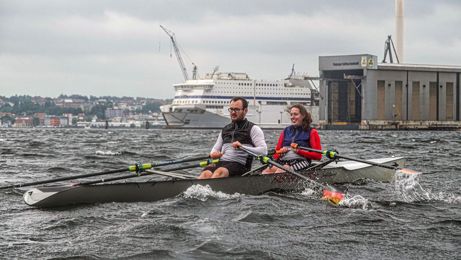 Coastal Rowing auf der Flensburger Förde